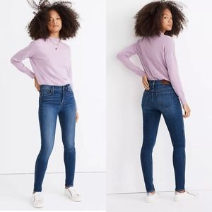 """MADEWELL • 10"""" High-Rise Skinny Jeans 28 Tall Long"""